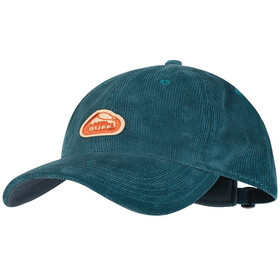 Buff Baseball Cap, solid blue